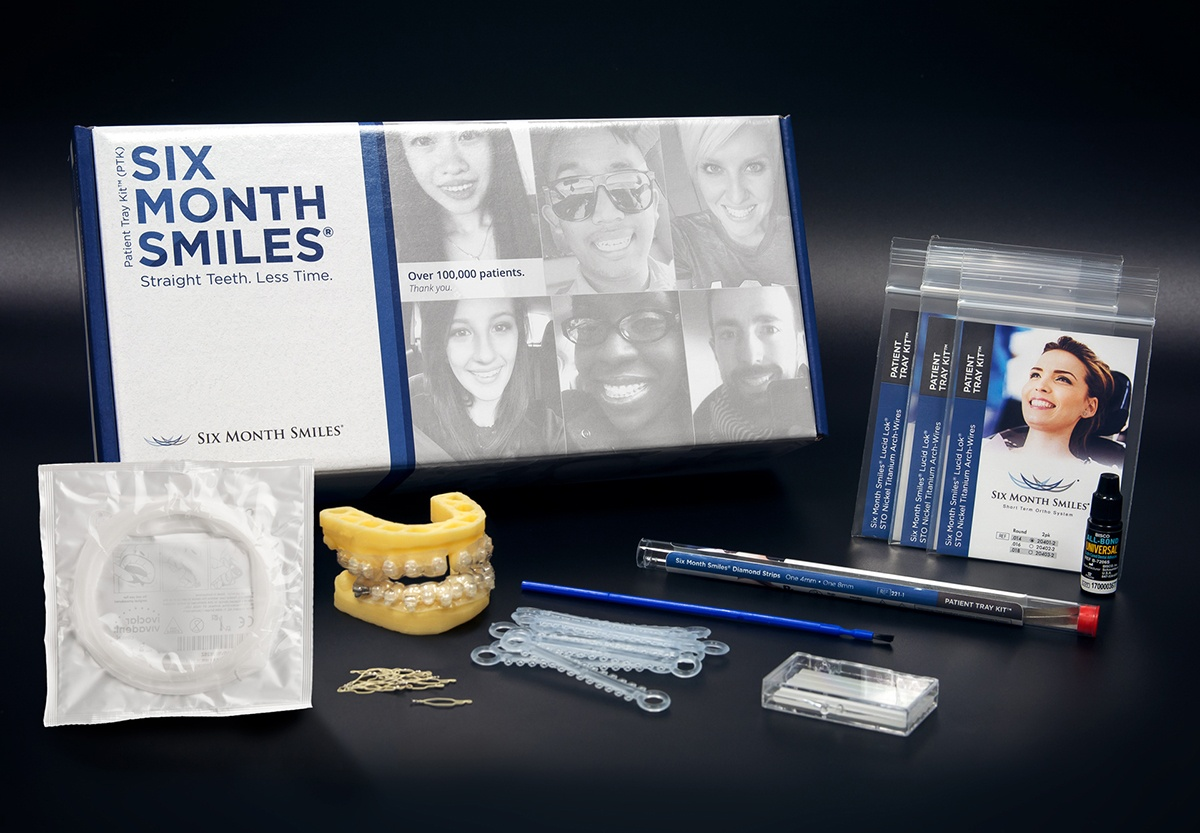Patient Tray Kit - Six Month Smiles